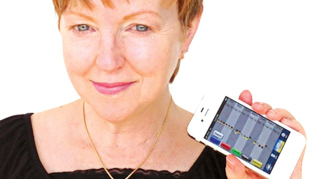 "Kimberly Knox has created an app to ""empower"" neurotics."