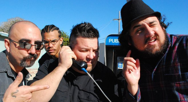 Freak the Mighty replaces Fuzz Huzzi's (pictured) funk roots with SoCal rock 'n' roll.