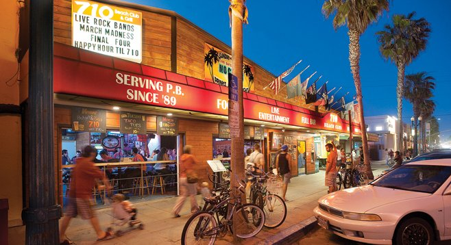 Capacity crowds plus live music equals late-night noise at the Garnet Avenue establishment, about which neighbors have complained for decades.