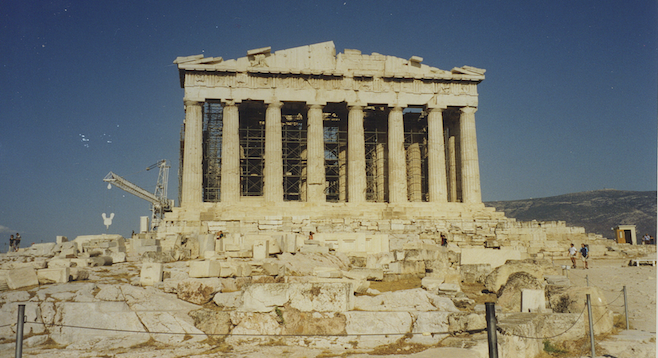 The Parthenon endures.