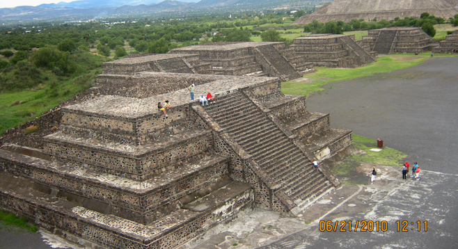 Teotihuacan World Map.Teotihuacan City Of The Gods San Diego Reader