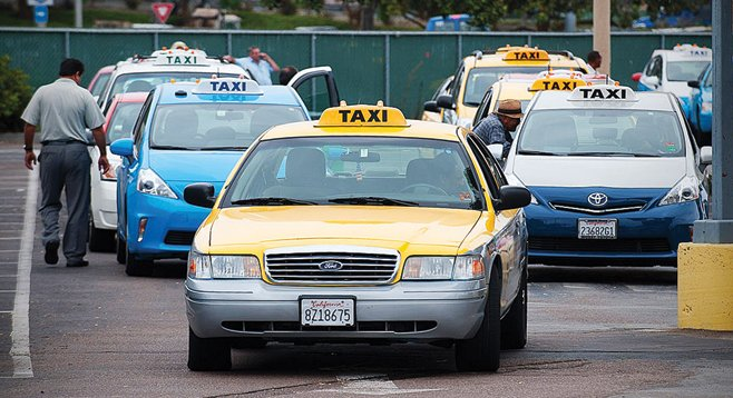 The practice of selling off cabs and permits has created a virtual taxi black market in San Diego.