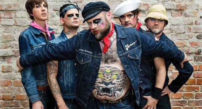 Norwegian deathpunks Turbonegro take the stage at House of Blues Friday night.