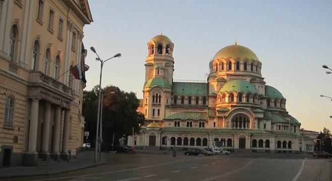 Sofia's Alexander Nevsky Cathedral.