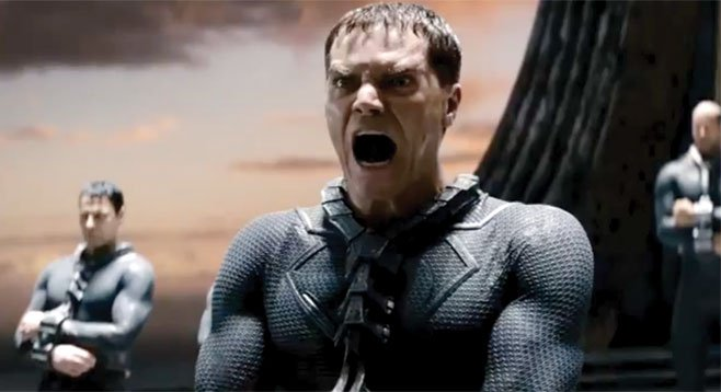 Man of Steel: General Zod gets a look at some of Zack Snyder's earlier directing work.