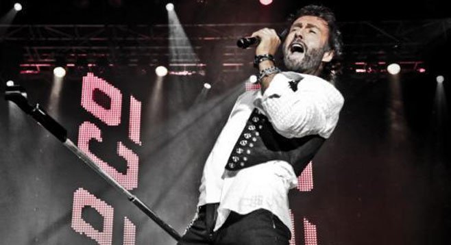 Original vocalist Paul Rodgers joined Bad Company at this year's fair.