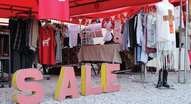 Fashion-forward (or is it retro?) vendors