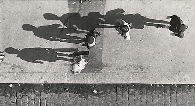Paris Shadows, by Andres Kertesz