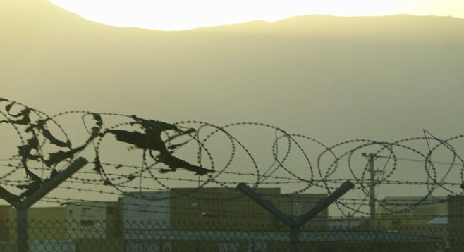 View from a U.S. military base in Afghanistan.