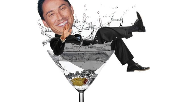 "Todd Gloria held ""Meet the Council President"" cocktail hour at the retro Sycamore Den in Normal Heights."