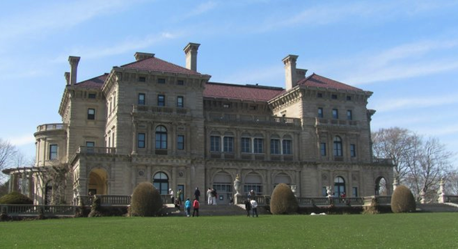 Newport's opulent The Breakers mansion, the Vanderbilts' summer home.