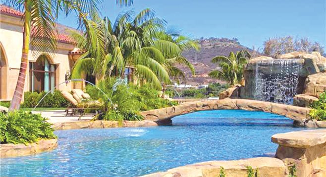 "Villa Italco's swimming area is ""a stunning masterpiece that sets a new standard for resort pools."""