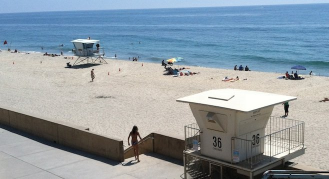 Towers 36 & 36 B at Carlsbad State Beach