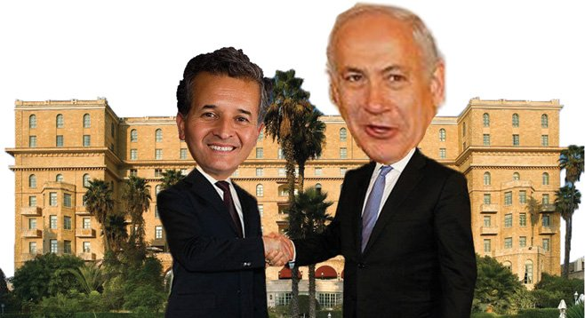 Did Netanyahu realize that Juan Vargas is just a junior congressman who likes free travel?