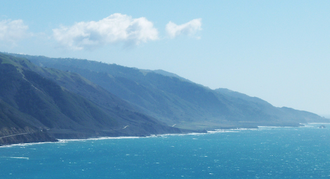 Inspiration for contemplation: Big Sur coastline.