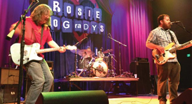 "Mudgrass frontman Dave Lowenstein says his band's ""a freight train of country-fried rock."""