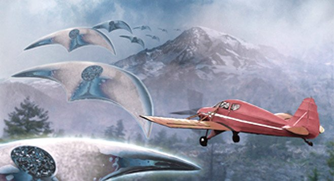 Unidentified flying objects in Washington?