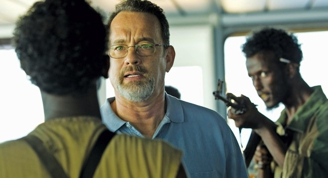 "Captain Phillips: ""Look, guys, there's a reason I'm the only one in focus here."""