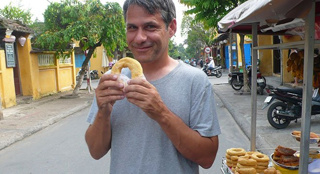 """Mark Trombino: """"You can get a Jimmy Eat Swirl donut at my shop."""""""
