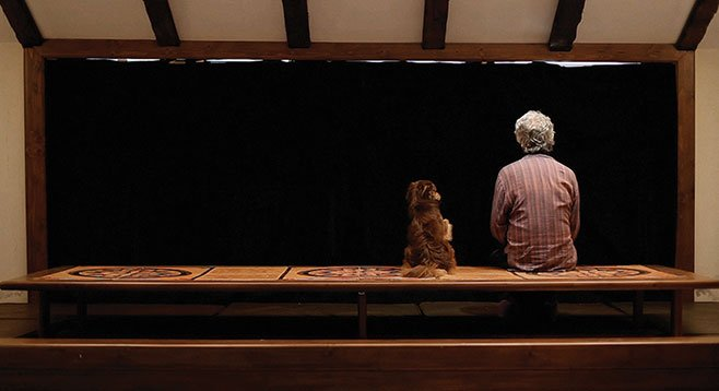 Man and Boy. Kambuzia Partovi stars in Closed Curtain, Jafar Panahi's surreal exploration of cultural imprisonment.