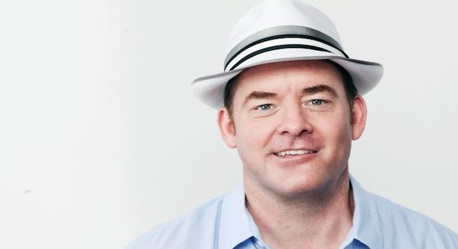 "David ""Whammy!"" Koechner returns to San Diego this weekend."