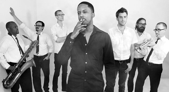 Rock-n-soul big band Black Joe Lewis will bring down House of Blues Friday night.
