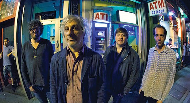 Ex-Sonic Youth guitarist Lee Ranaldo & the Dust take the stage at Casbah Saturday night.