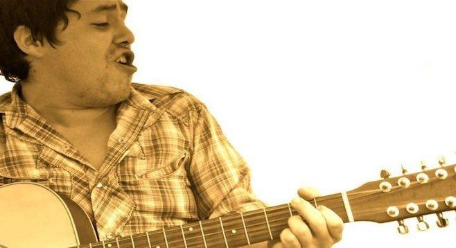 Mexicali's acoustic norteño punk crooner Juan Cirerol