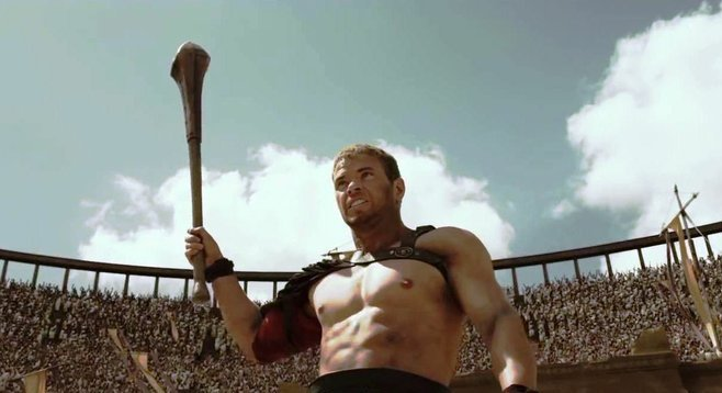 Kellan Lutz as Hercules.