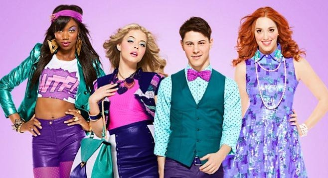 Xosha Roquemore, Sasha Pieterse, Andrea Bowen, and their B.G.B.F., Paul Iacono