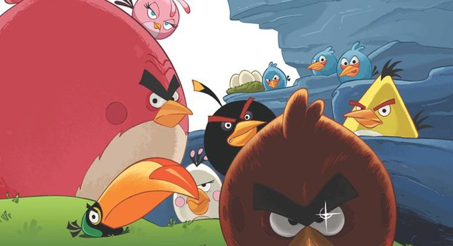 Angry Birds slated for a June release