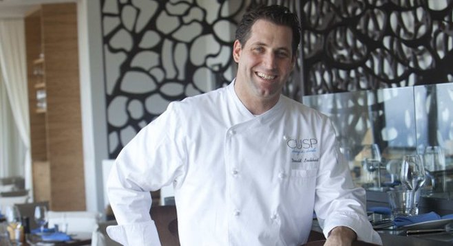 Donald Lockhart, executive chef of Cusp restaurant in La Jolla