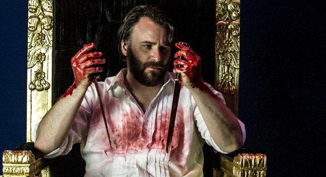 Sean Yael-Cox as Macbeth