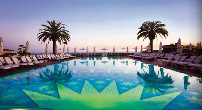 From the Montage Laguna Beach brochure