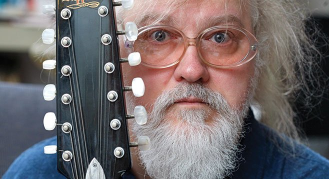Soda Bar sets up lo-fi legend R. Stevie Moore on Monday night.
