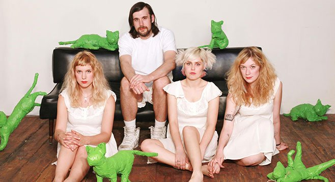 Soda Bar serves up Seattle garage-pop act Tacocat on Monday.