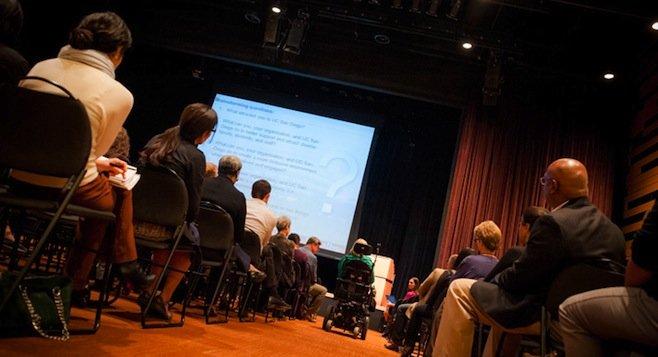 UCSD campus diversity meeting