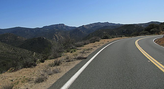 View from Lyons Valley Road, the 42-mile ride's highest point.