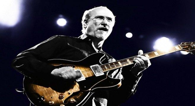 Veteran jazz guitarist John Scofield plays the Price Center Ballroom East (UCSD) on Sunday, April 13.