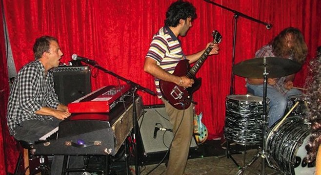 The Donkeys rock The Hideout (formerly The Void, formerly Eleven, formerly the Radio Room, formerly the Zombie Lounge.)