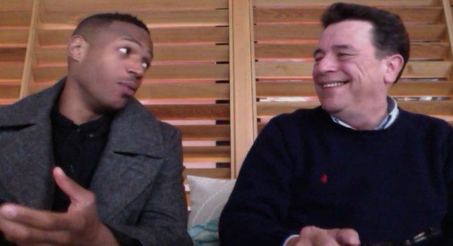 Willie Tyler (left) and Lester