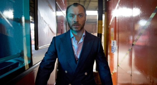 Jude Law as Dom Hemingway