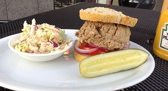 My chopped liver sandwich