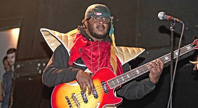 Bassman extraordinaire Thundercat brings his indie R&B thing to the Irenic Mother's Day night.