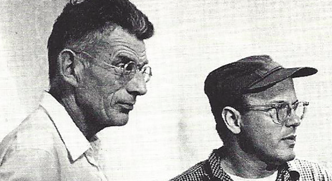 Samuel Beckett and Alan Schneider
