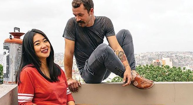 Seth and Alexis Sullivan may not look like typical Tijuanenses, but they're part of a burgeoning Tijuana creative scene.