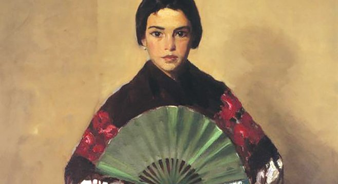 The Green Fan (Girl of Toledo, Spain), 1912. Oil on canvas. Gibbes Museum of Art, Charleston, South Carolina
