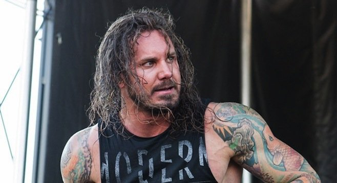 Former As I Lay Dying frontman Tim Lambesis was to serve nine years for contracting wife's murder.