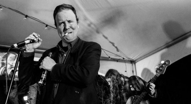 Detroit's Protomartyr is touring in support of their very recommendable post-punk CD Under Color of the Right. They play the Hideout Sunday night!