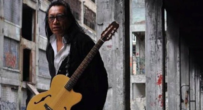 The resurfaced psych-folk singer/songwriter Rodriguez appears at the North Park Theatre Thursday night!